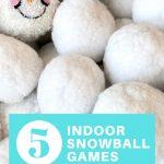 5 indoor snowball games