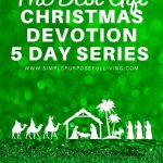 The Best Gift Christmas Devotion 5 day series