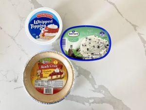 simple 3-ingredient ice cream pie recipe ingredients