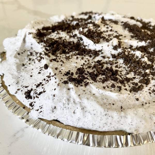 simple no bake oreo pudding pie