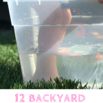backyward water activities for kids