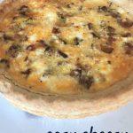 easy cheesy quiche recipe