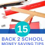 15 back to school money saving tips