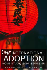 Chinese lantern Pinterest pin for international adoption