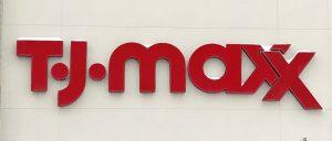 TJ Maxx Sign