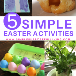 5 simple easter activities