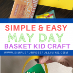 easy may day basket craft for kids