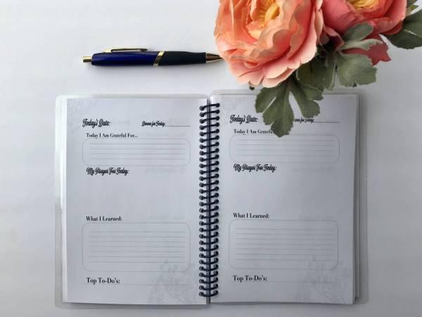 Simple Purposeful Living Mini Daily Journal