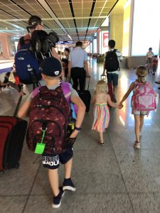 arriving in Hefei for our gotcha day