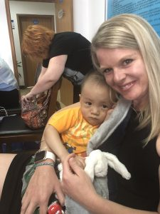 adoption day adoptive mom