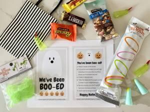 boo your neighbors activity ideas