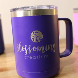 personalized stainless steel coffee mug