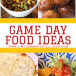 xEasy game day food ideas