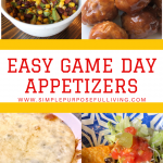 easy game day appetizers