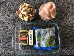 Italian chicken, green beans, and potatoes recipe