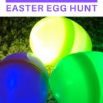glow in the dark easter egg hunt ideas for kids