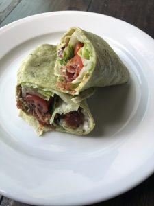 BLT Wrap recipe