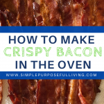 how to make crispy bacon in the oven