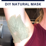 Armpit detox DIY natural mask
