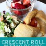 crescent roll pizzas