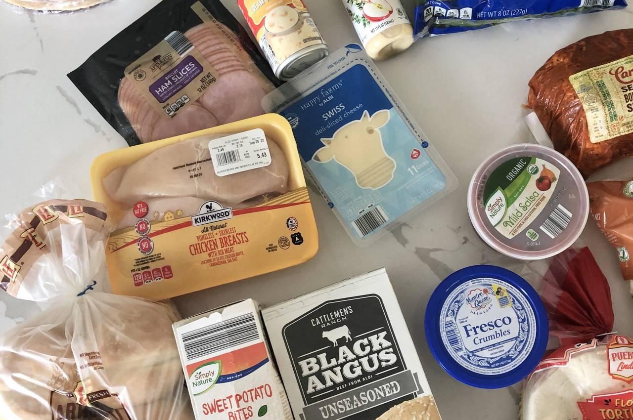 Aldi weekly meal ideas ingredients
