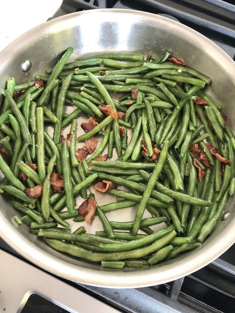 grandma's bacon green beans