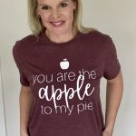 apple to my pie graphic T