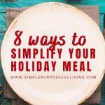 8 ways to simplify Christmas dinner