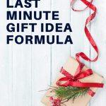 easy last minute gift idea formula