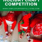 family friendly holiday craft competition