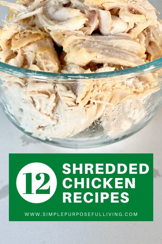 12 shredded chicken recipes