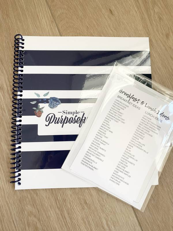 complete meal planning bundle