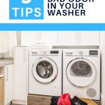 5 tips to remove bad odor in your washer
