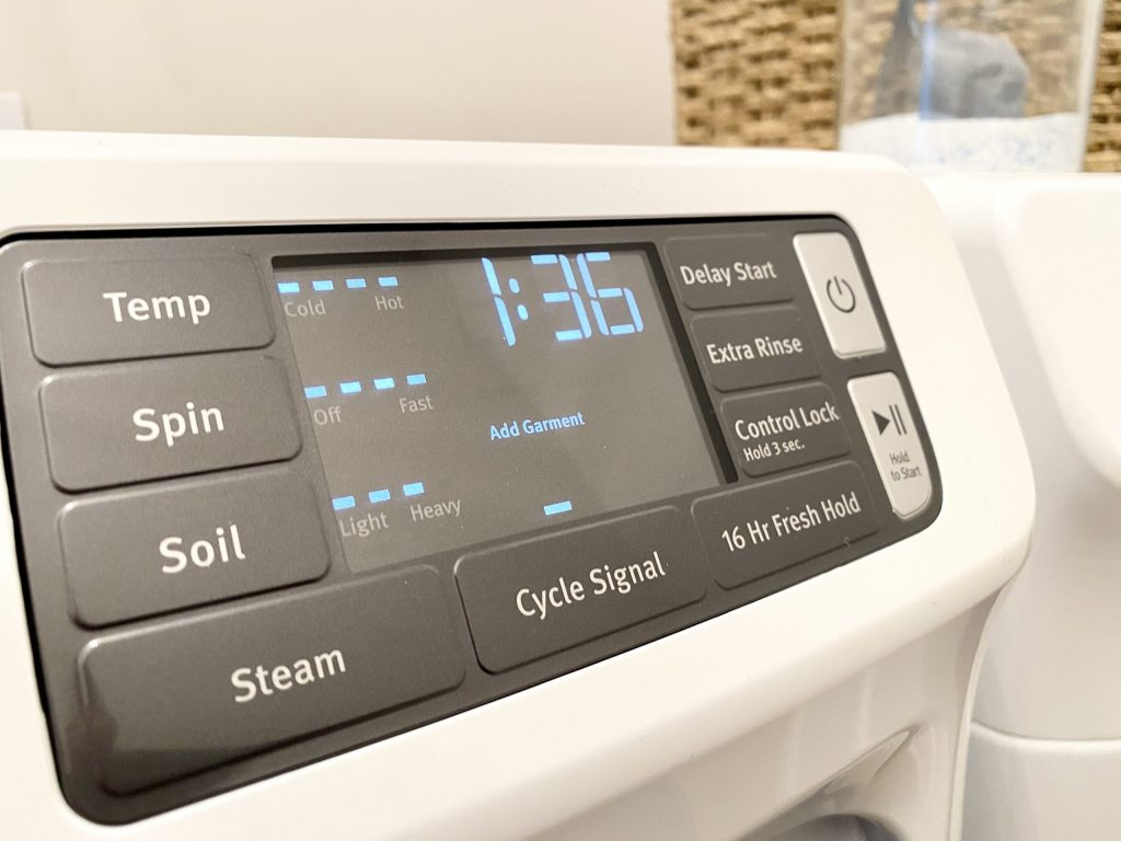 bad smelling washer run hot cycle