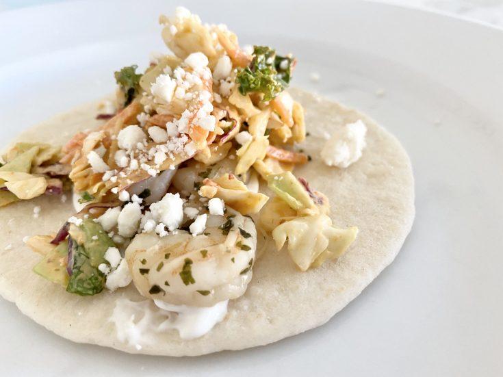 easy cilantro lime shrimp street tacos