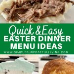 Quick and easy Easter dinner menu ideas