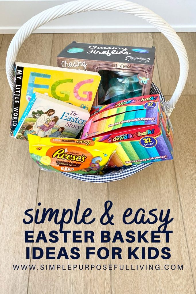 simple and easy easter basket ideas for kids