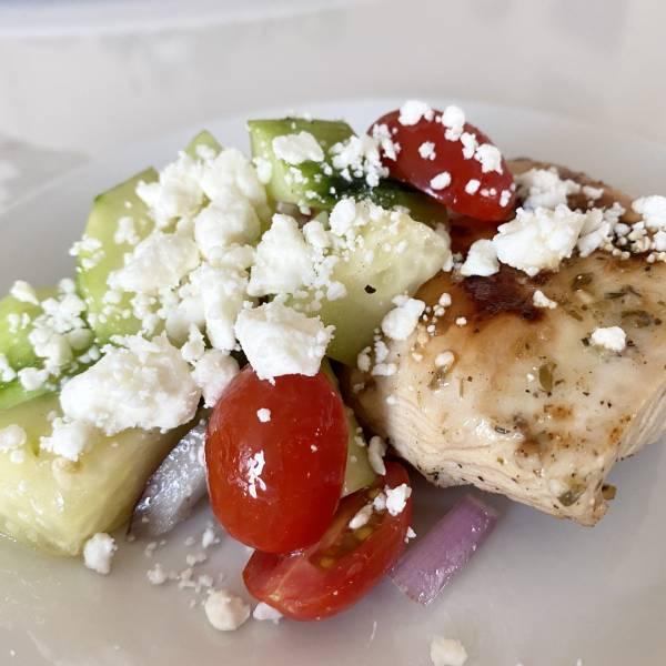 easy grilled greek chicken recipe