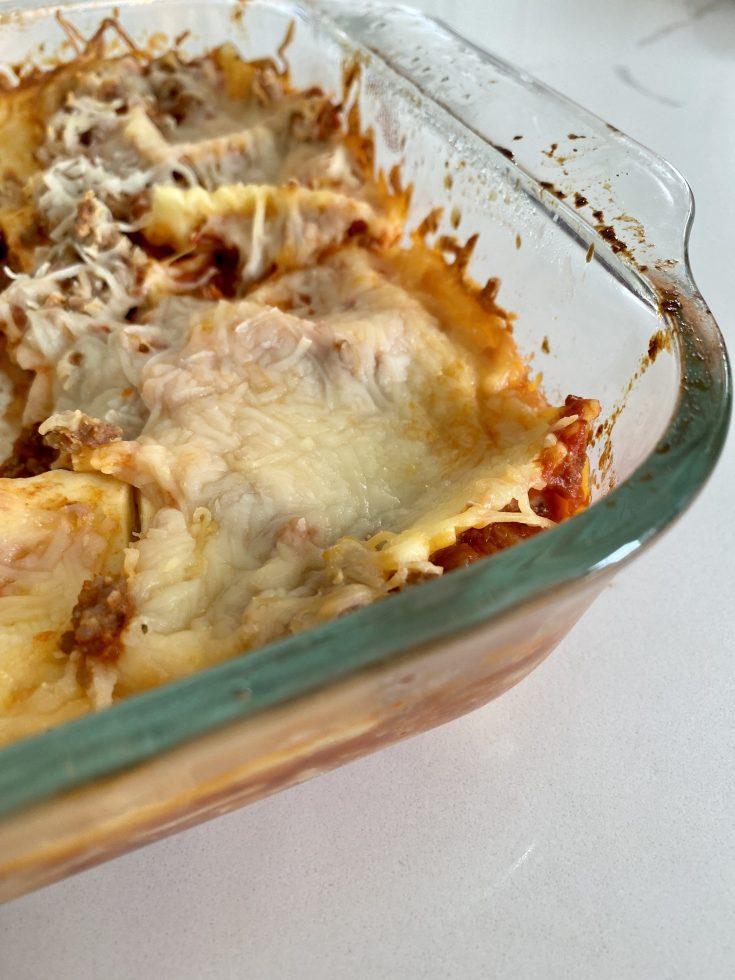 Easy 4-Ingredient Ravioli Lasagna Bake