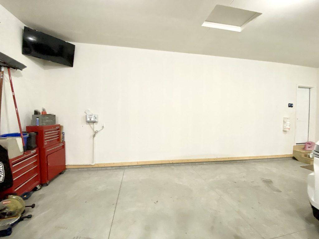 before picture garage organization system