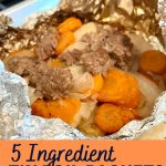 5 ingredeint tin foil packets easy recipe