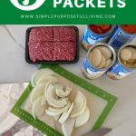 5 ingredient campfire packets