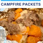 5 ingredient campfire packets recipe