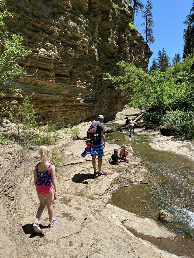 devil's bathtub hike spearfish canyon