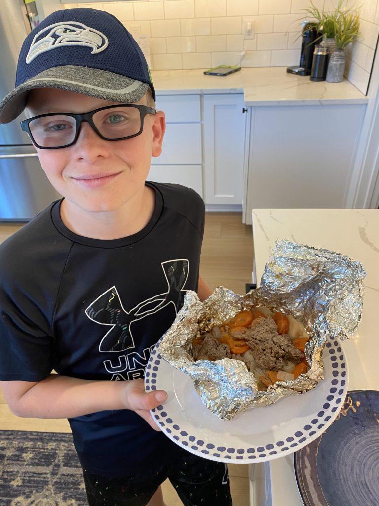 easy foil packets dinner recipe