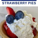 easy strawberry pies with mini graham cracker crusts