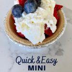 quick & easy mini strawberry pies