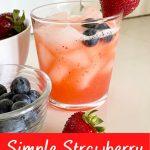simple strawberry lemonade recipe