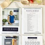 30 days 30 meals cookbook with bonuses, how to meal plan step by step guide