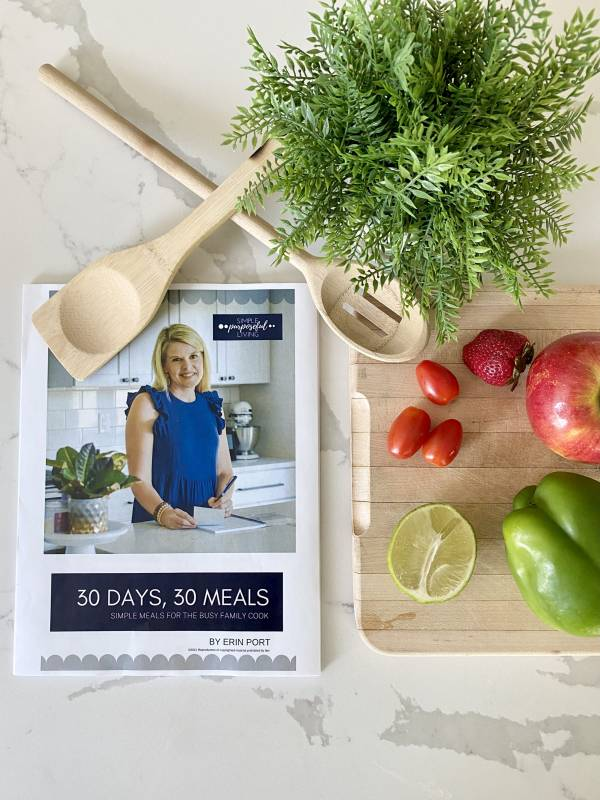 30 days 30 meals easy meal ideas for family-friendly meal planning